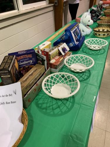 Trinity Episcopal Church   Holly Jolly Ham Supper   2019